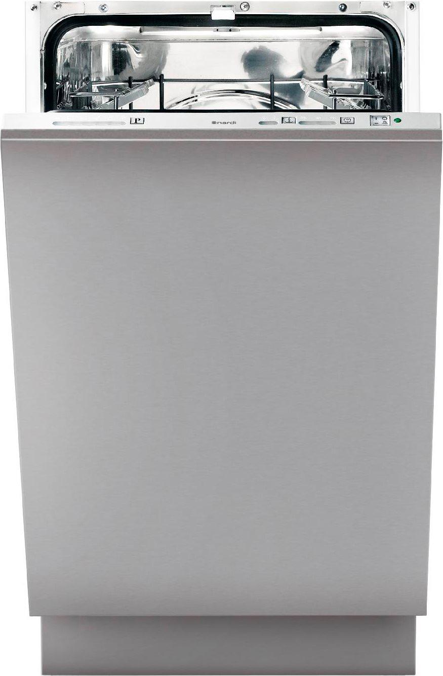 Nardi lavastoviglie slim da incasso a scomparsa totale for Lavastoviglie da incasso 45 cm
