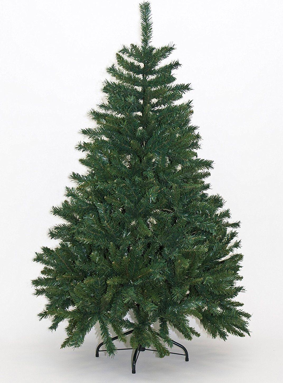 Alberi Di Natale Finti.Albero Di Natale Realistico 150 Cm Artificiale 663 Rami Abete Finto Colore Verde Alpino