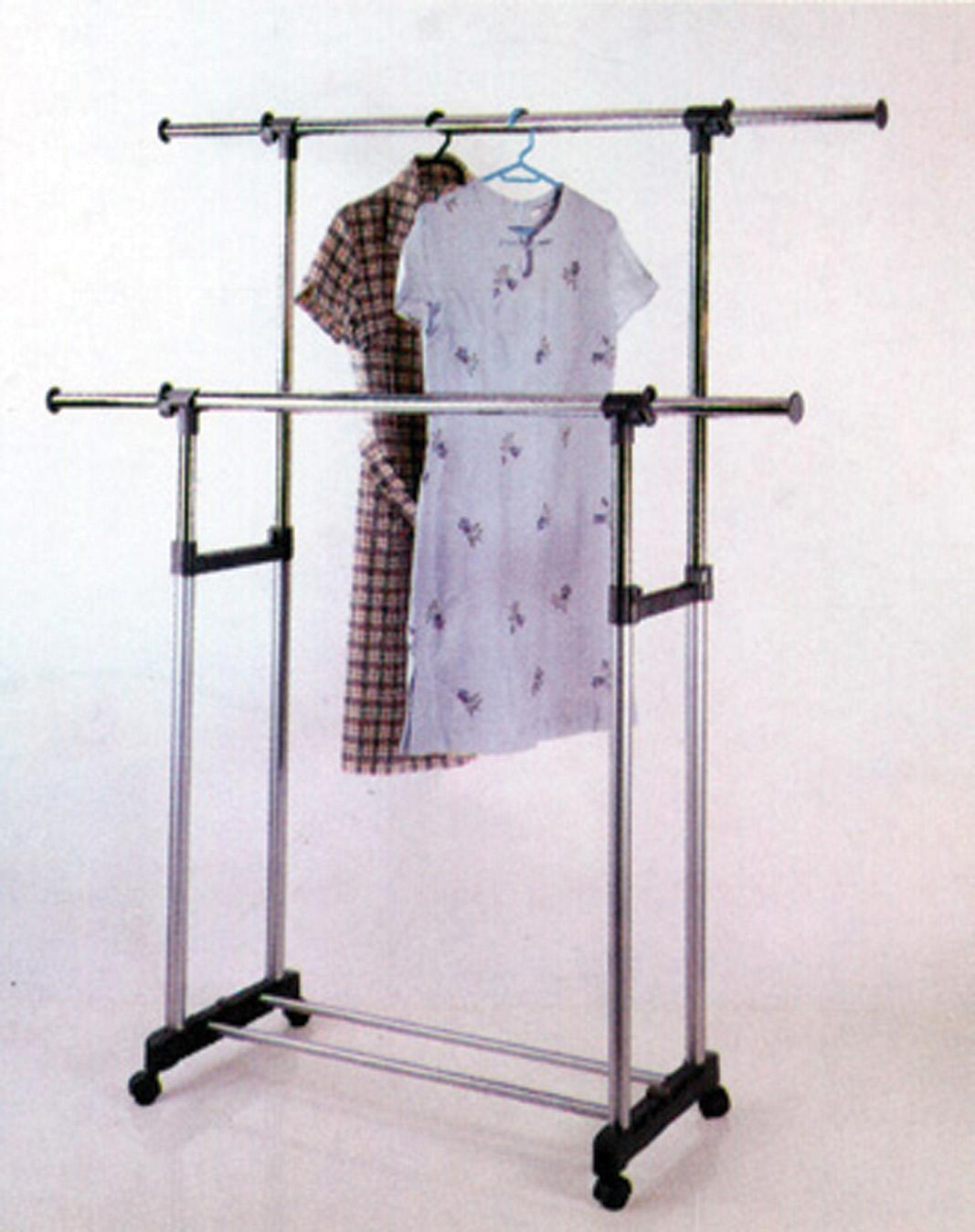 Stand Appendiabiti.Nbrand Stand Appendiabiti Stender Doppio Allungabile Dimensione 90