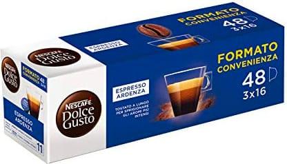 Nestle 12378057 Capsule Caffè Espresso 48 pz. per Nescafè Dolce Gusto Ristretto Ardenza