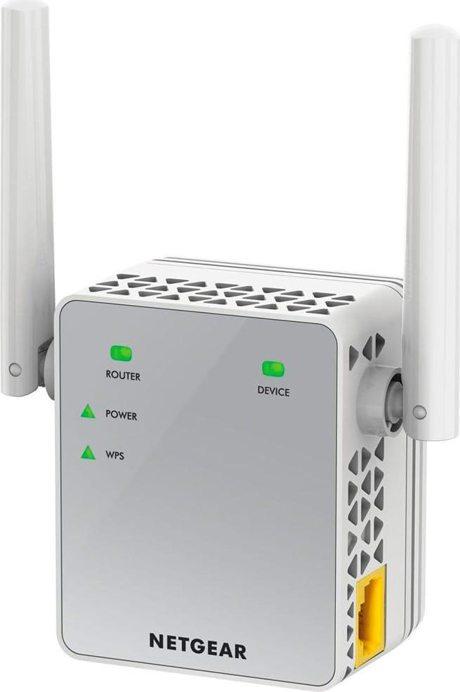 Netgear Range extender Wi-Fi 802.11n 1-Porta col Bianco EX3700-100PES