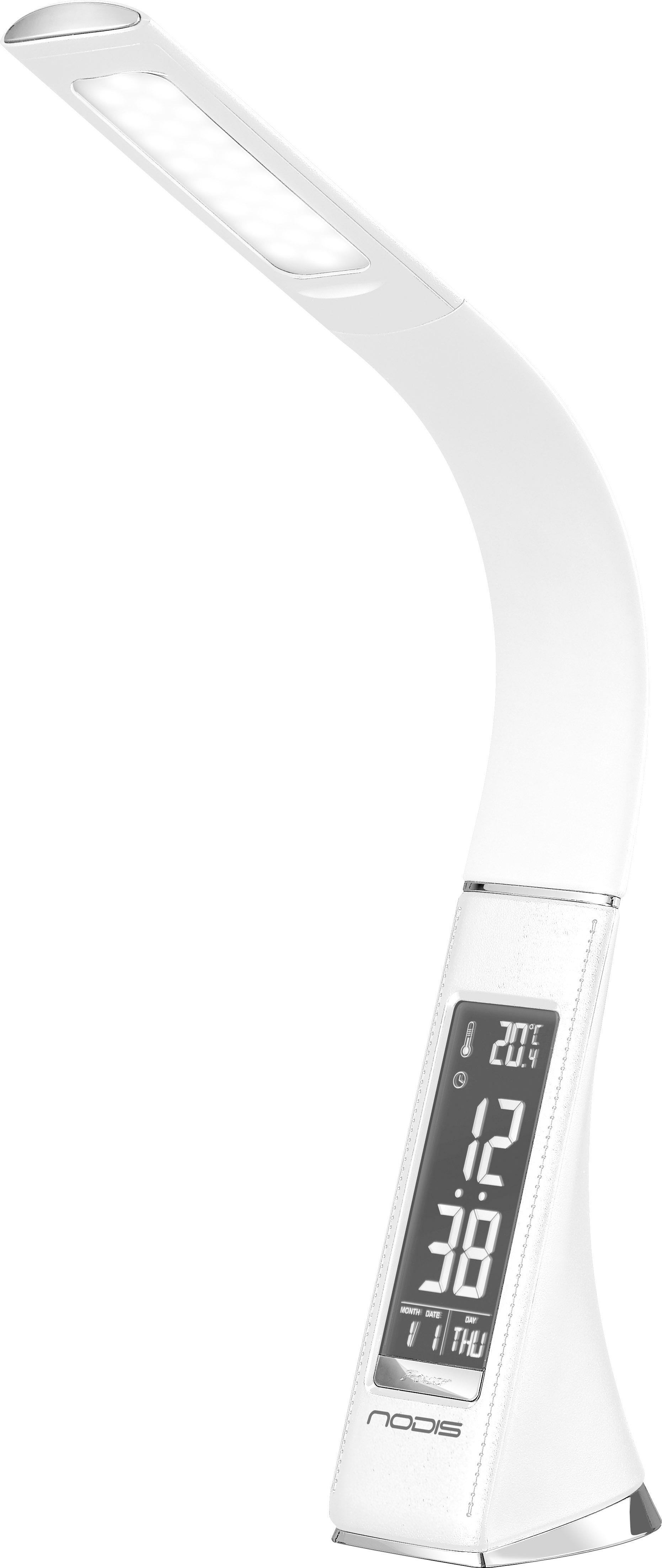 Nodis Lampada LED da tavolo 5W Luce Bianca Orologio Sveglia Calendario NT-L15