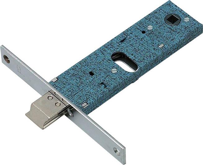 Omec Serratura Porta Alluminio da Infilare Scatola 153x44 mm 3Ch. 790F16 E03