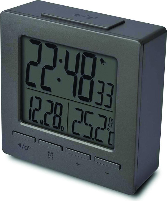 Oregon Scientific Orologio sveglia digitale Calendario Snooze Temperatura M511_GR
