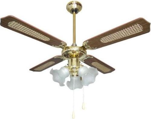 Plafoniere Con Pale : Zephir zfr b ventilatore da soffitto cm con pale in