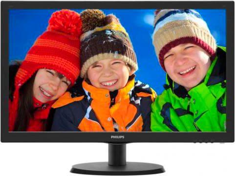 "PHILIPS Monitor LED 21.5"" Full HD 1920x1080Pixels 200cdm² VGA HDMI 223V5LHSB200"