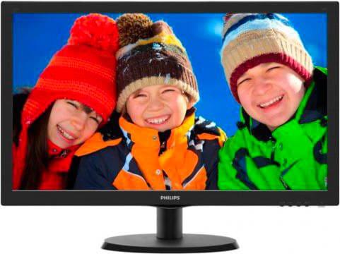 "PHILIPS Monitor PC 21,5"" Full HD 200 cdm² 10000000:1 VGA - 223V5LSB210"