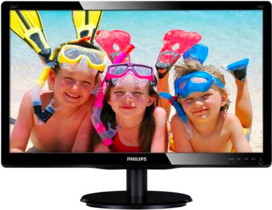 "PHILIPS Monitor Led 21.5"" Wide 16:9 Risoluz. 1920x1080 Full HD 226V4LAB"