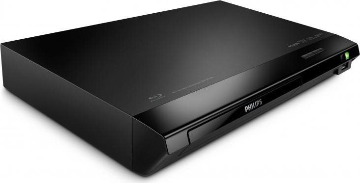 PHILIPS Lettore Blu-Ray DVD DivX Full HD Audio 7.1 USB BDP2510B12 DivX Plus HD