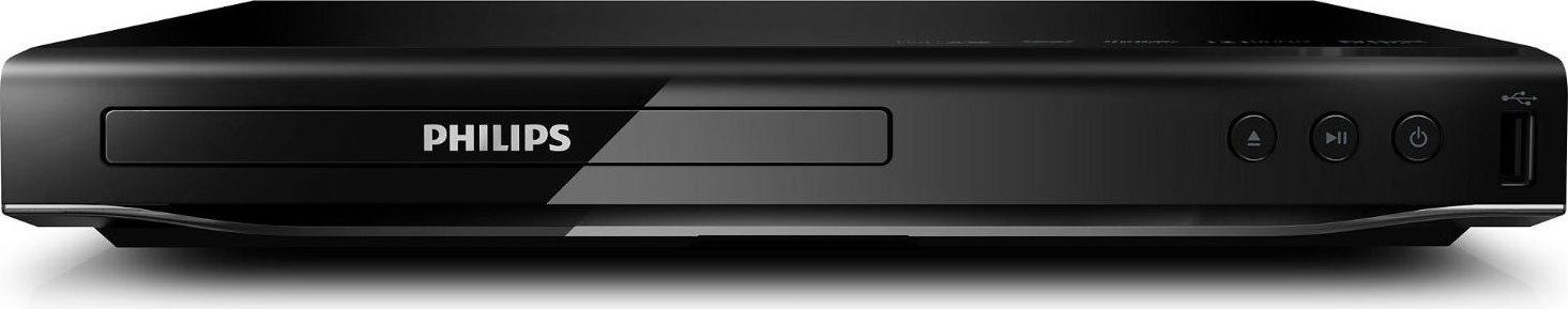 PHILIPS Lettore DVD MediaPlayer Riproduzione foto JPEG col. Black DVP2850