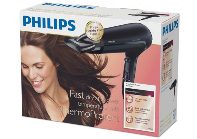 PHILIPS Phon Asciugacapelli Asciuga Capelli Professionale ThermoProtect v.2