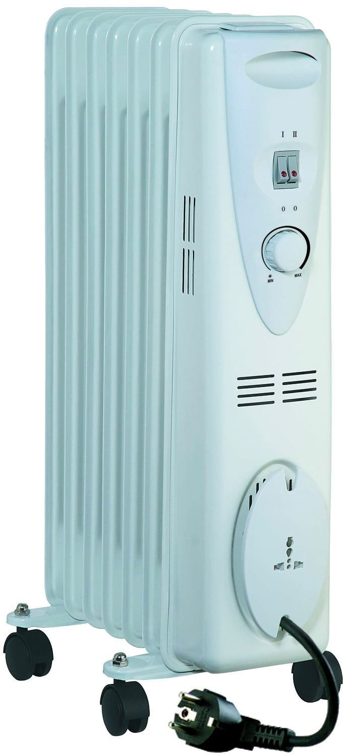 PLEINAIR ERC2-1507 Termosifone Elettrico Radiatore ad Olio Stufa 7 Elementi Holly 1500