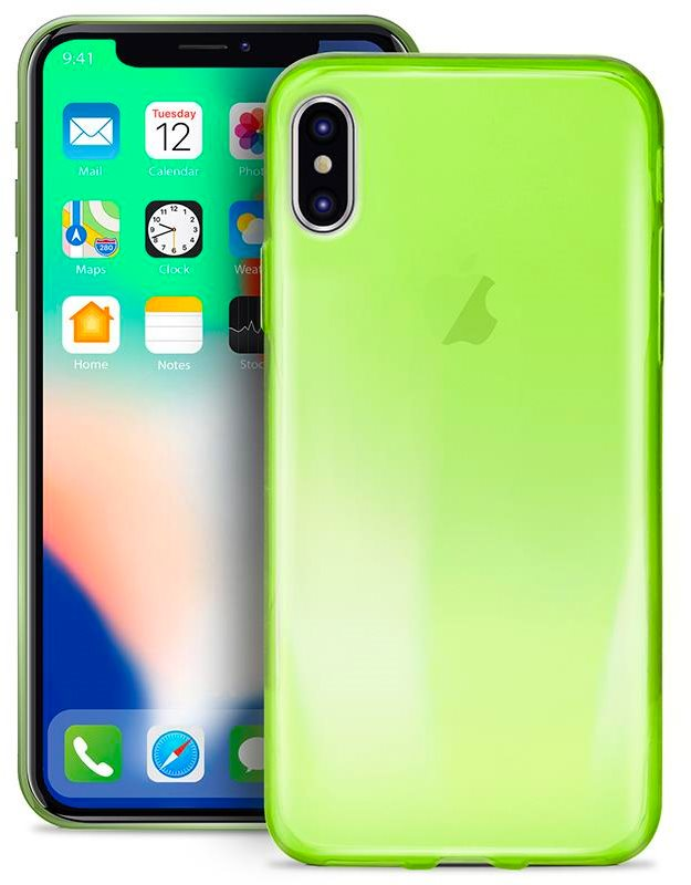custodia iphone x apple verde