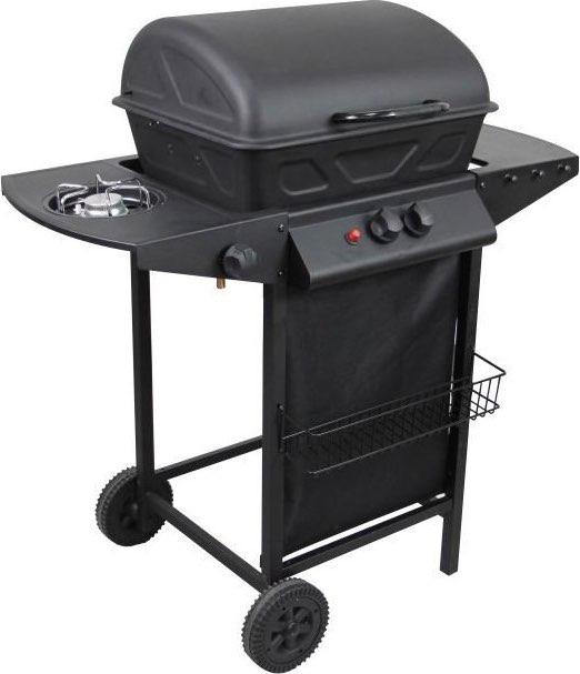 Pyramidea barbecue a gas gpl da esterno 2 bruciatori 1 - Barbecue da esterno a gas ...