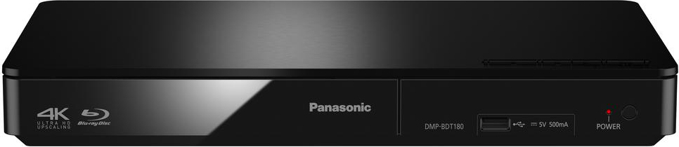 Panasonic Lettore Blu-Ray 3D Full HD 4K LAN HDMI USB - DMP-BDT180EG