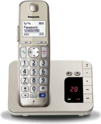 Panasonic Telefono Cordless DECT GAP con Segreteria Telefonica e