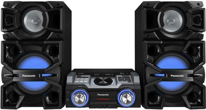Panasonic Sistema Mini Hi-Fi Bluetooth CDMp3 USBAUX FM Nero - SC-MAX4000EK