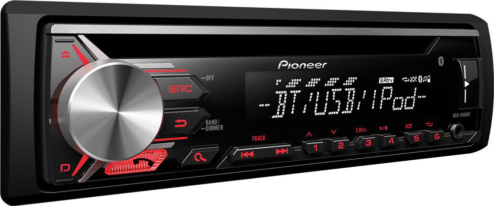 autoradio bluetooth pioneer stereo auto deh 3900bt prezzoforte 113389. Black Bedroom Furniture Sets. Home Design Ideas