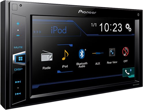 autoradio 2 din pioneer bluetooth con schermo mvh av290bt prezzoforte 111145. Black Bedroom Furniture Sets. Home Design Ideas
