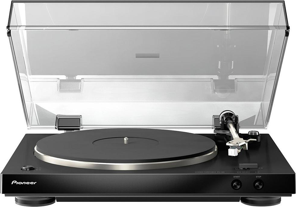 Pioneer Giradischi stereo vinile 2 Watt 1 RCA AC col Nero PL-30-K