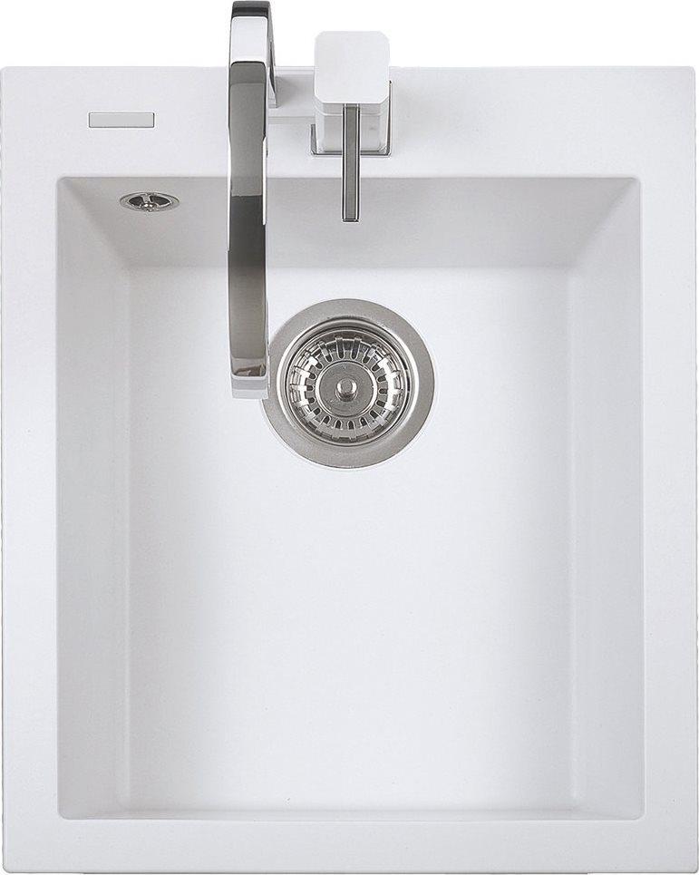 Lavello cucina plados lavello fragranite bianco on4110stug58 54210 - Vasca cucina fragranite ...