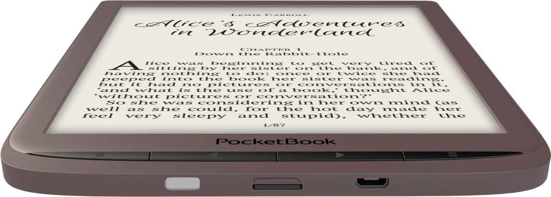 "Pocketbook PB740-X-WW Ebook Reader E Ink 8"" Touch 8 Gb USB 3.0 Marrone InkPad 3"
