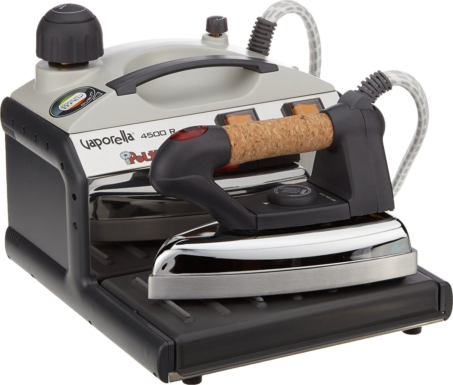Polti ferro da stiro a vapore con caldaia a pressione for Ferro a vapore con caldaia