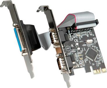 Roline Adattatore Pci Express interfaccia 2 Seriale + 1 Adattatore 15.99.2116