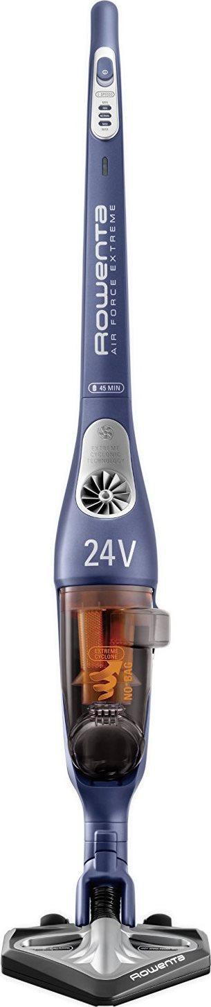 Rowenta Scopa Elettrica ricaricabile Autonomia 45 24 Volt AIR FORCE EXTREME