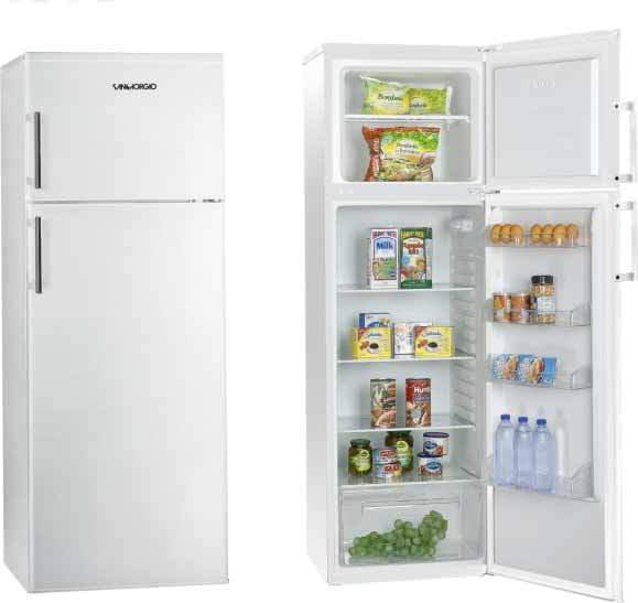 Frigorifero sangiorgio frigo doppia porta sd24sw in for Frigorifero doppia porta