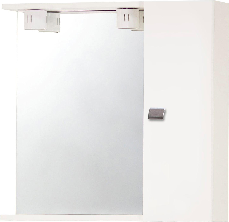 Specchio Bagno Con Ante.Savini Due Mobile Specchio Bagno In Legno 60x16x57h Cm Colore