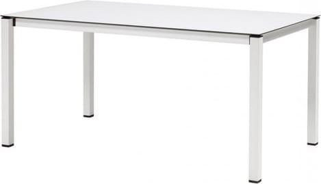 Tavolo Esterno Allungabile Bianco.Scab Tavolo Allungabile Da Giardino 160 210 X 90 Cm Piano In Hpl