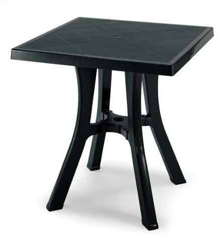 Tavoli Da Giardino Resina Scab.Scab Tavolo Da Giardino In Resina Quadrato Dimensione 70x70x73 H
