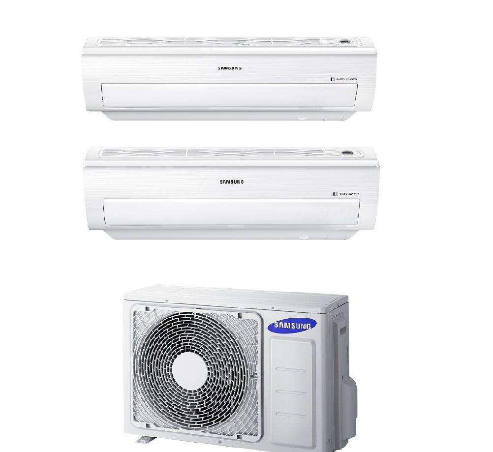 Condizionatore samsung 9000 12000 btu inverter pompa di for Split condizionatore