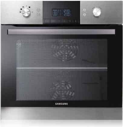 Forno samsung bq1s4t007 forno da incasso elettrico multifunzione con grill in offerta su - Forno da incasso samsung ...