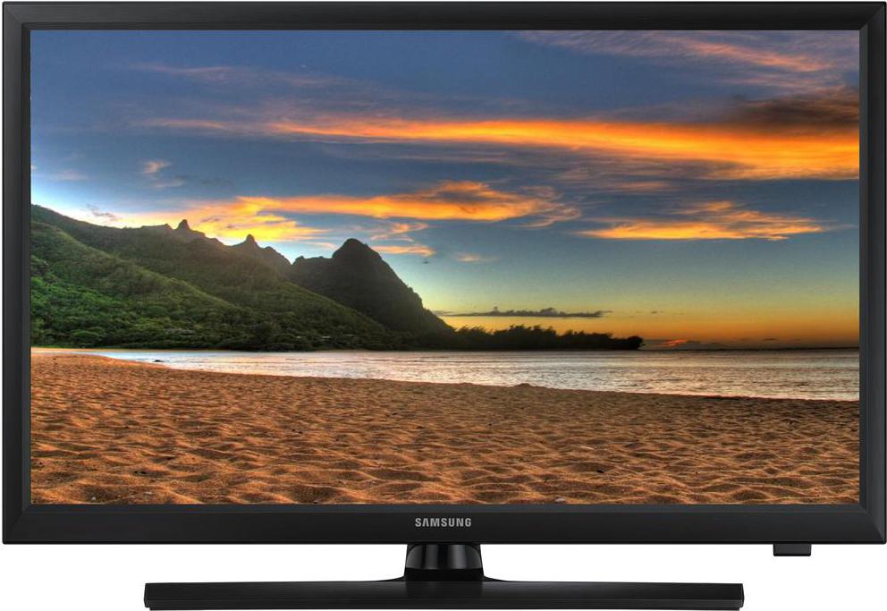 "Samsung Monitor TV LED 24"" HD Ready Digitale terrestre DVB-T2 LT24E310EI ITA"