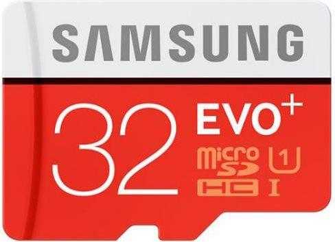 Samsung Memoria Micro SD 32 GB Class 10 Adattatore SD - MB-MC32DAEU