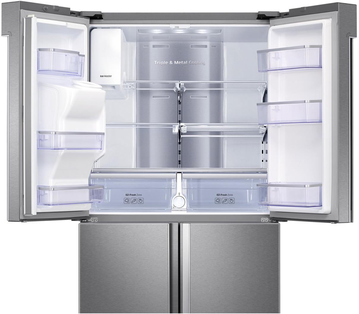 Frigorifero americano frigo side by side no frost samsung for Frigorifero side by side 4 porte