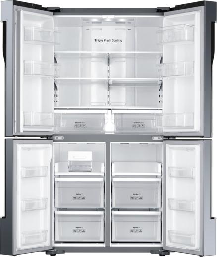 frigorifero samsung frigo americano side by side no frost rf60j9000sl in offerta su. Black Bedroom Furniture Sets. Home Design Ideas