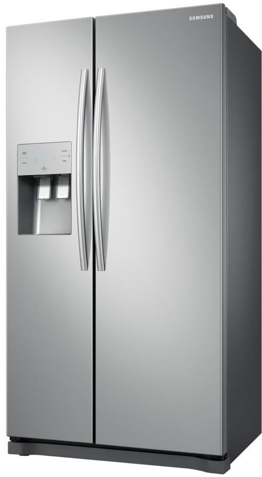 Frigorifero Side by Side Americano Capacità 485 Litri Classe energetica A+  Raffreddamento No Frost Dispenser Acqua/Ghiaccio colore Inox - RS50N3603SA  ...