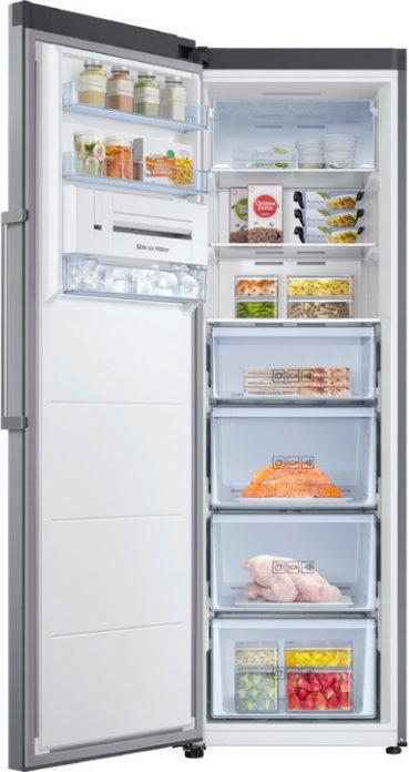 Congelatore verticale a cassetti samsung rz32m7115s9 es in for Congelatore verticale a