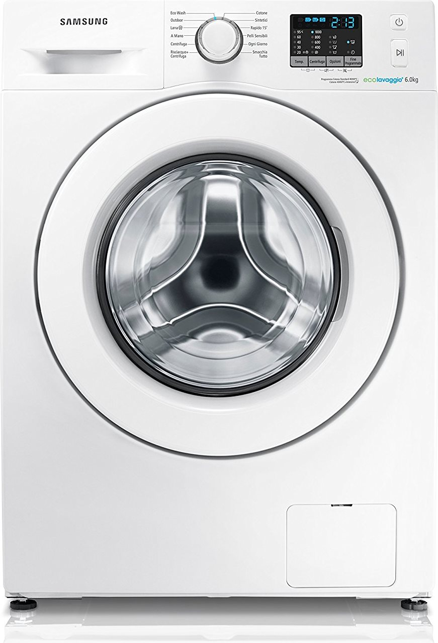 Lavatrice Samsung 6 Kg 1000 Giri Wf60F4E0W0W Serie 50 In Offerta ...