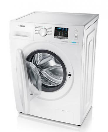 Lavatrice samsung 6 kg 1000 giri wf60f4e0w0w serie 50 in - Profondita lavatrice ...