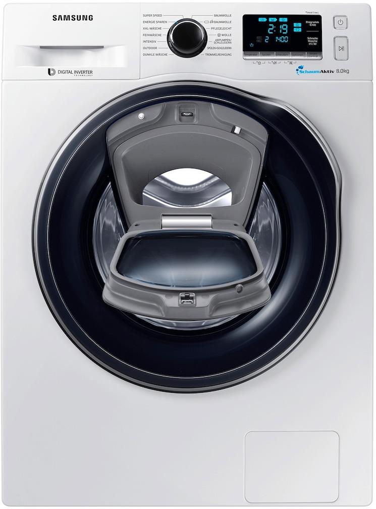 lavatrice samsung ww80k6404qw addwash 8 kg 1400 giri lavatrici in offerta prezzoforte. Black Bedroom Furniture Sets. Home Design Ideas