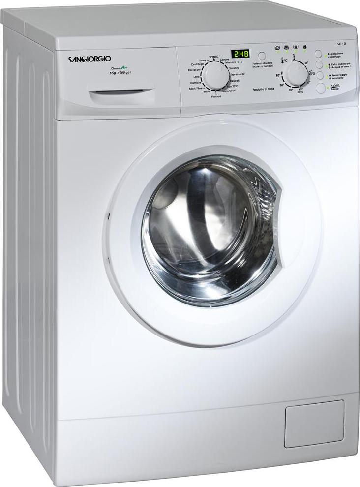 Acquista san giorgio online prezzoforte - Profondita lavatrice ...