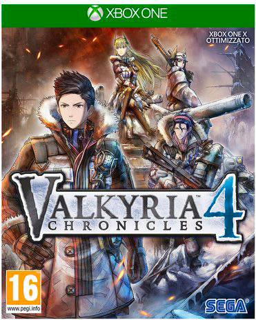sega 1027262 Videogioco Xbox One Valkyria Chronicles 4 Launch Edition RPG 16+