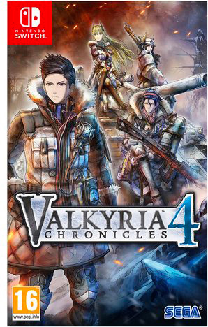 sega 1027263 Videogioco per Switch Valkyria Chronicles 4 Launch Edition RPG 16+