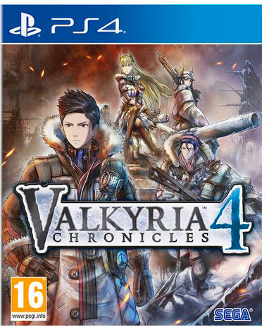 sega 1027363 Videogioco per PS4 Valkyria Chronicles 4 Launch Edition RPG 16+
