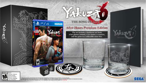 sega 102XXXX PS4 Yakuza 6: The Song of Life After Hours Limited Edition