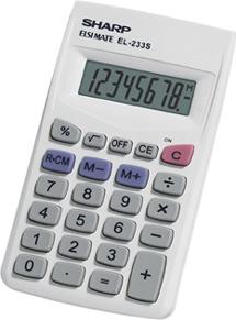 Sharp Calcolatrice EL233SB
